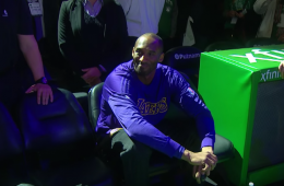 Kobe Bryant Wins His Final Game In Boston