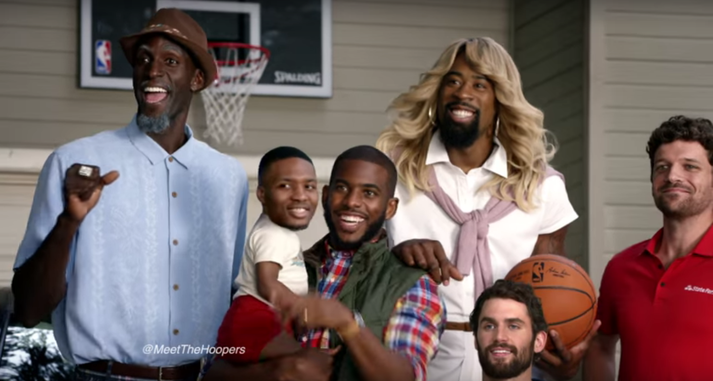 The Hoopers x State Farm Commercials