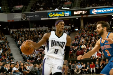 Rajon Rondo and DeMarcus Cousins Take Down Knicks