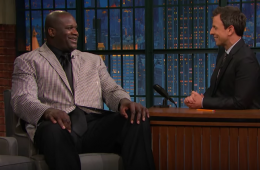 Shaquille O'Neal Talks Kobe Retirement with Seth Meyers