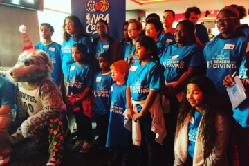 Timberwolves Take Foster Kids On Shopping Spree