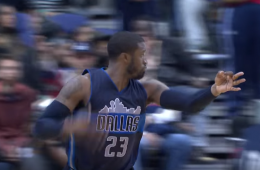 Watch Wesley Matthews Hit 10 Three-Pointers