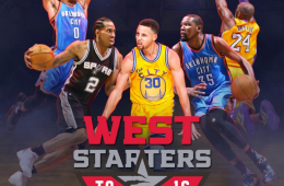 2016 Western Conference All-Star Game Starters