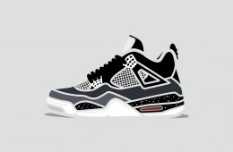 Air Jordan 4 Minimal Illustration Series