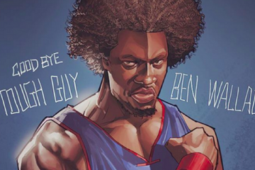 Ben Wallace Motor City Legend Illustration