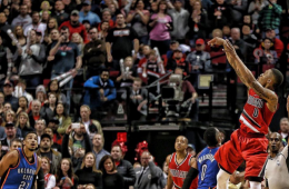 Damian Lillard Explodes In the 4th, Blazers Beat OKC