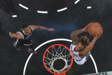 Derrick Williams Puts On a Dunk Clinic In Brooklyn