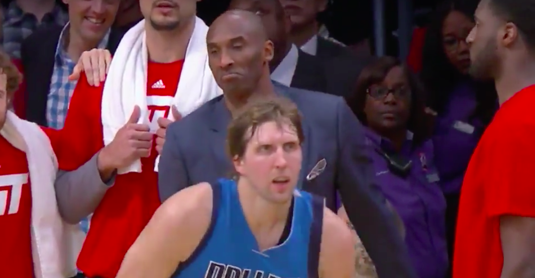 Dirk Nowitzki Hits Game-Winner, Kobe Bryant Gives Him Props