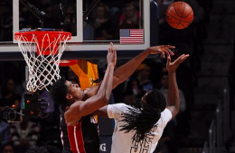 Hassan Whiteside Blocks 11 Shots, Gets Triple-Double