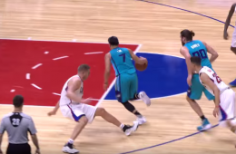 Jeremy Lin Hits Cole Aldrich with a Mean Cross-Over