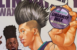 Jeremy Lin Linsanity Wax Illustration