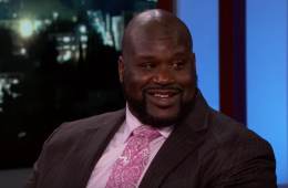 Jimmy Kimmel Surprises Shaquille O'Neal with Lakers Statue