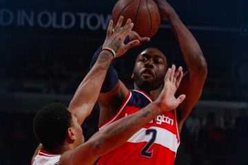 John Wall Posts Double-Double, Wizards Win