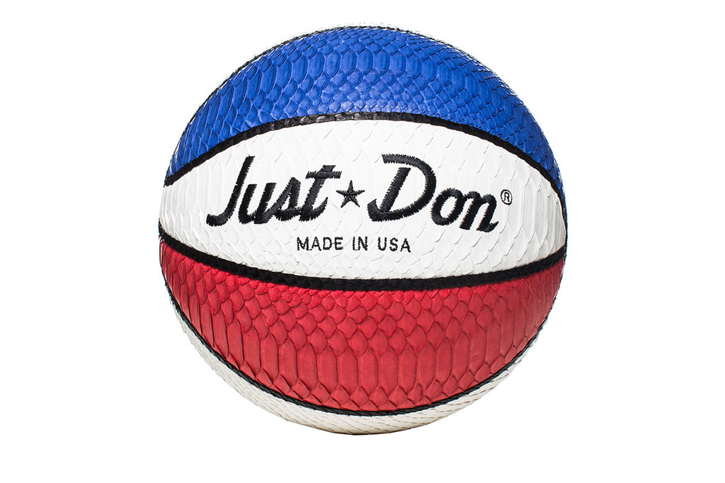 Just Don Red, White and Blue Python Basketball – Hooped Up