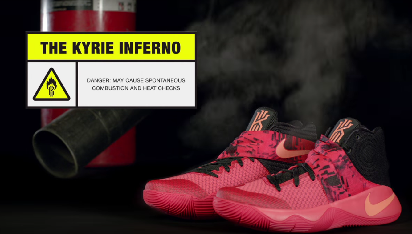 Kyrie Irving 'Kyrie 2 Inferno' Commercial