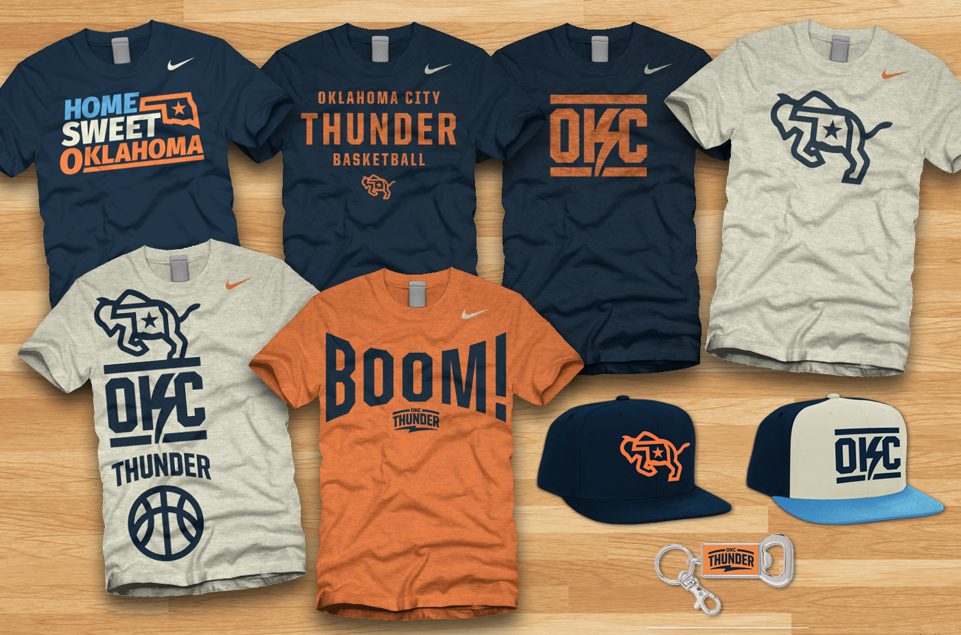 Oklahoma City Thunder Re-Brand