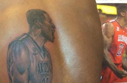 Rondae Hollis-Jefferson Has a Tattoo of Himself