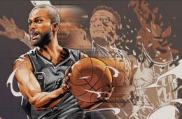 Tony Parker Speed Demon Illustration