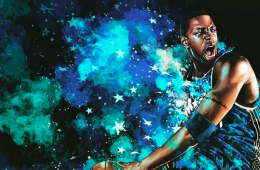 Tracy McGrady Orlando Magician Illustration