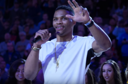 UCLA Honors Russell Westbrook
