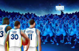 Unstoppable Warriors New York Times Illustration