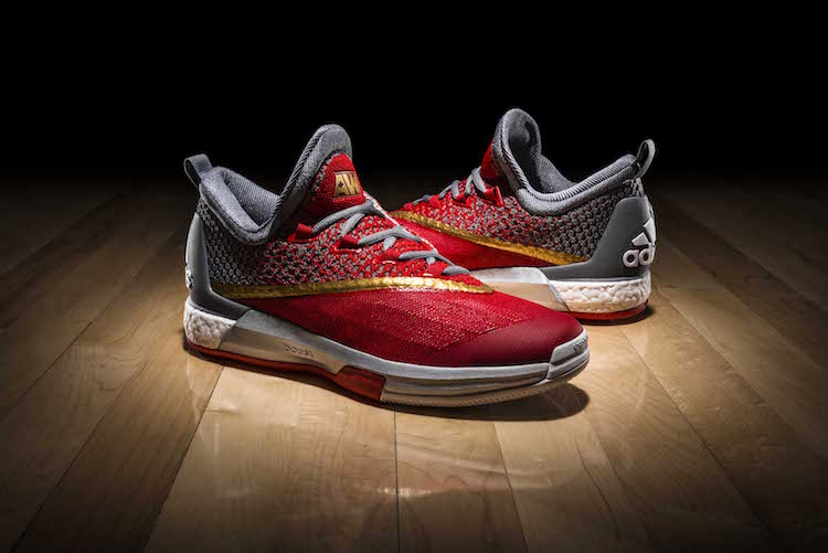 low priced 8fd45 0d836 Andrew Wiggins adidas Crazylight Boost 2.5 PEs