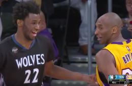 Andrew Wiggins Drops 30, Receives High Praise From Kobe