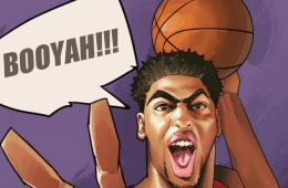 Anthony Davis Booyah Illustration