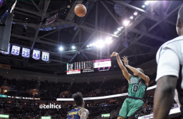 Avery Bradley Nails Game-Winning Buzzer Beater In Cleveland