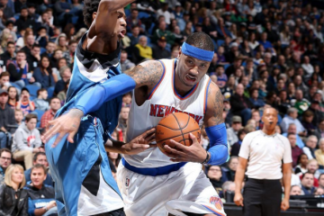 Carmelo Anthony, Knicks Snap Seven Game Losing Streak