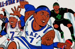 Carmelo Anthony x The Avengers All-Star Comic Cover
