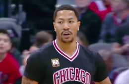 Derrick Rose Has Near Triple-Double In Denver