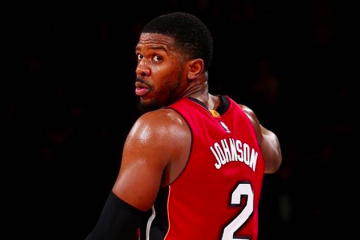 Joe Johnson Makes His Heat Debut