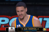 Klay Thompson Wins Three-Point Competition