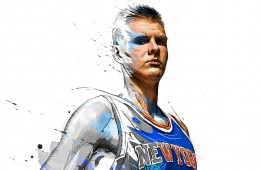 Kristaps Porzingis Living Color Painting