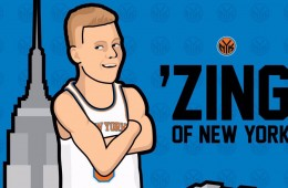 Kristaps Porzingis 'Zing of New York' Illustration