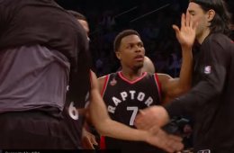 Kyle Lowry Gets Triple-Double In NYC, Raptors Win
