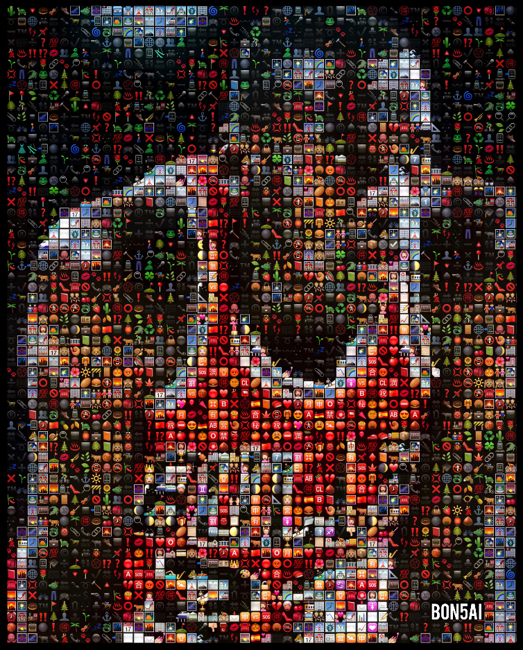 Michael Jordan Emoji Collage