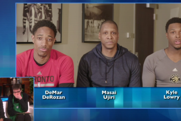 Raptors Surprise a Fan on Ellen For Good Deed