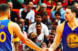 Stephen Curry, Klay Thompson Explode In Miami