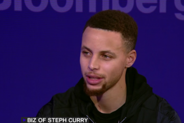 Stephen Curry x Bloomberg Business Interview