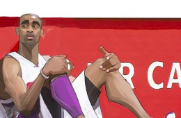 Vince Carter aka Air Canada Illustration
