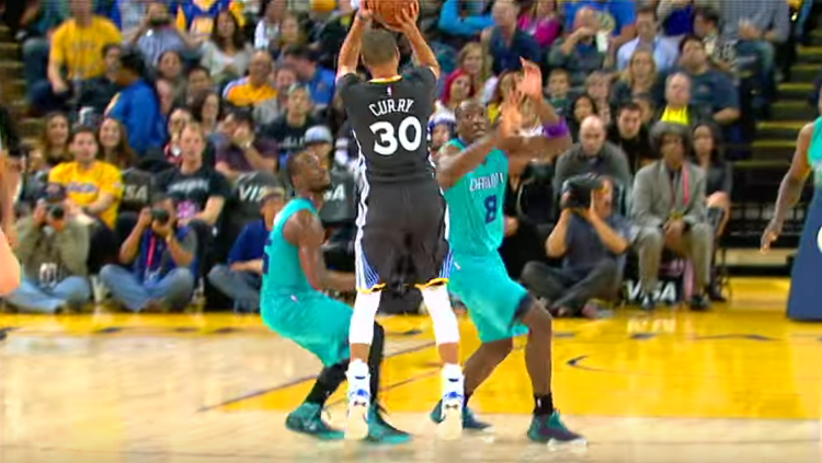 Watch 128 Stephen Curry Threes In 128 Seconds