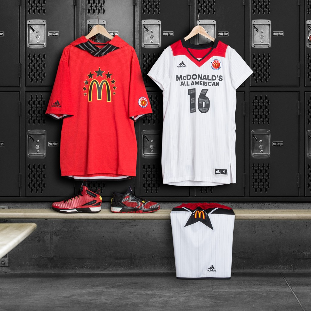 adidas Unveils 2016 McDonald's All American Games Collection