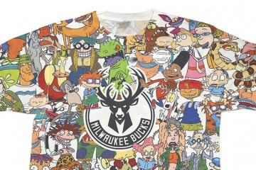 Milwaukee Bucks x Rugrats 90's Collection