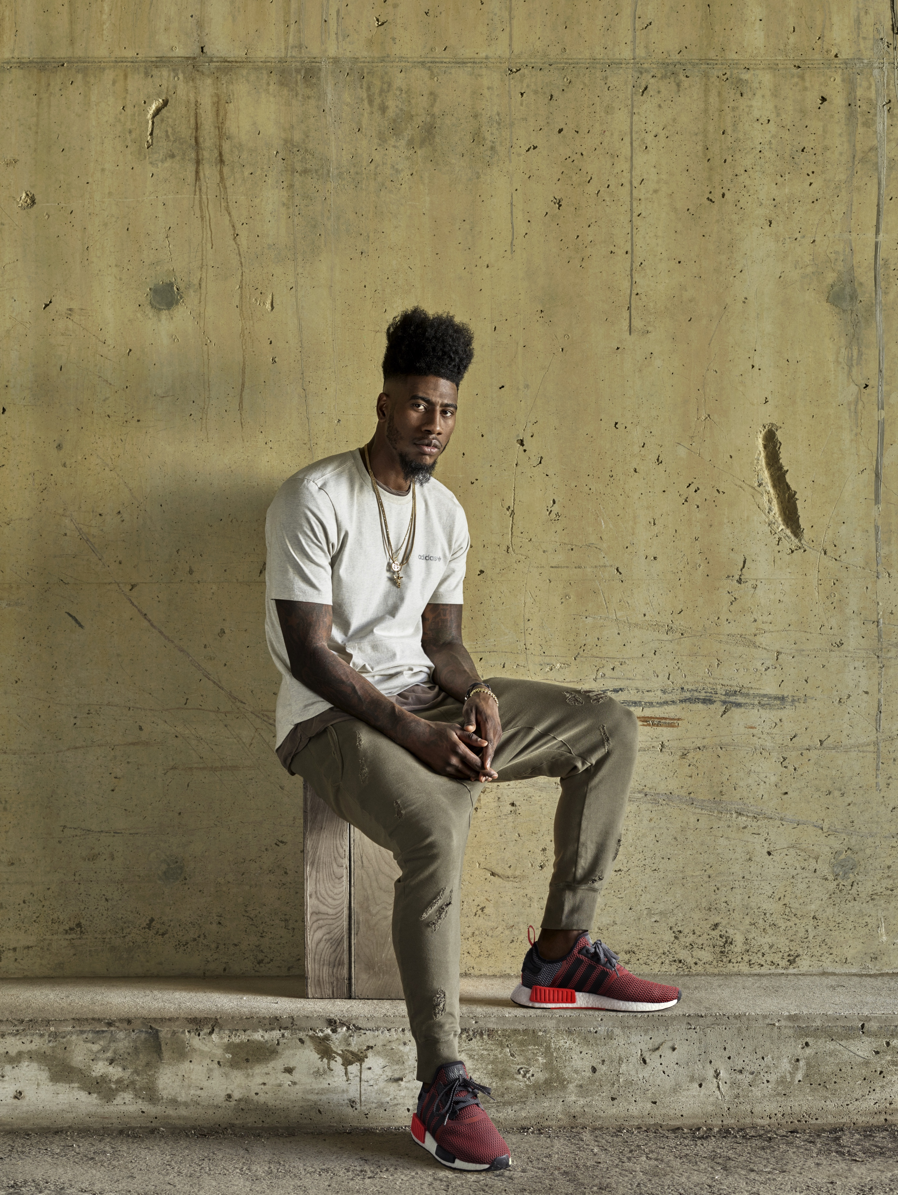 Iman Shumpert Models New adidas NMD_R1 Colorways