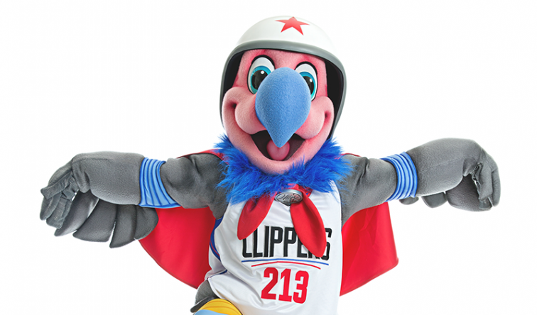 Clippers Unveil Mascot, Chuck the Condor
