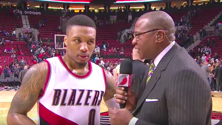 Damian Lillard Stays Hot, Drops 41 In Win
