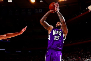 DeMarcus Cousins Gets 20-20 In NYC