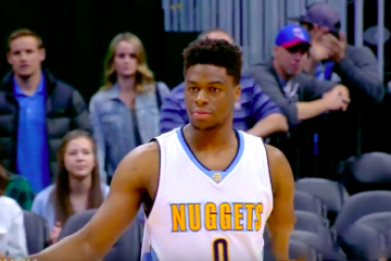 Emmanuel Mudiay Scores Career-High 30 Points